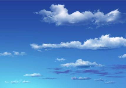 Фотообои голубое небо пространство (sky-0000100)