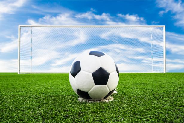 Фотообои футбольный мяч (sport-0000127)