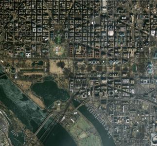 Фотообои улицы города с верху (terra-00077)