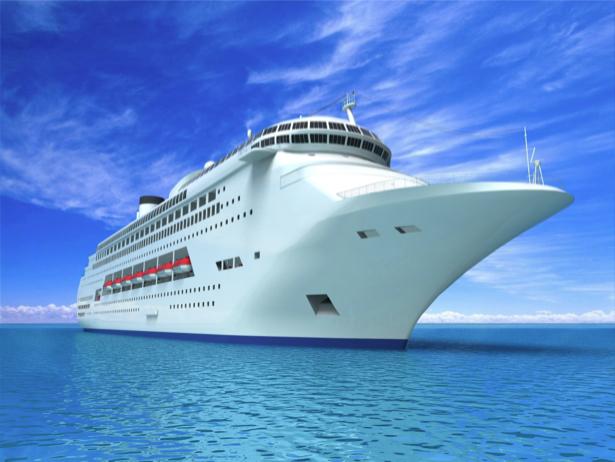 Фотообои большой круизный лайнер (transport-0000161)