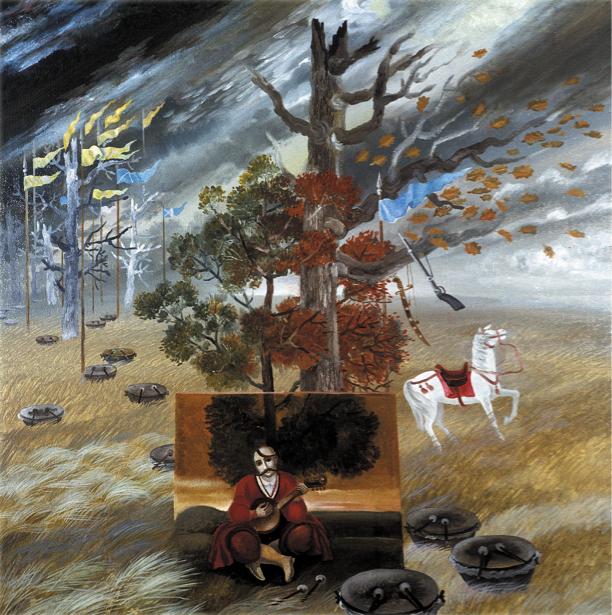 Иллюстрация к произведению Евгения Маланюка Псалмы степи (ukraine-0108)