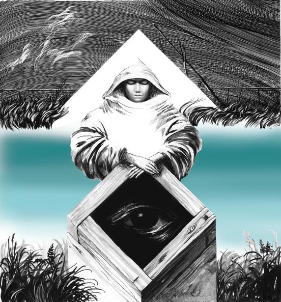 иллюстрация к произведению Л. Голоты - Забытый колодец (ukraine-0177)