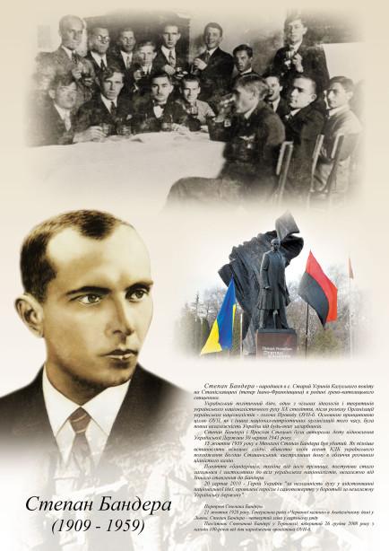 Учебное пособие Степан Бандера (ukraine-348)