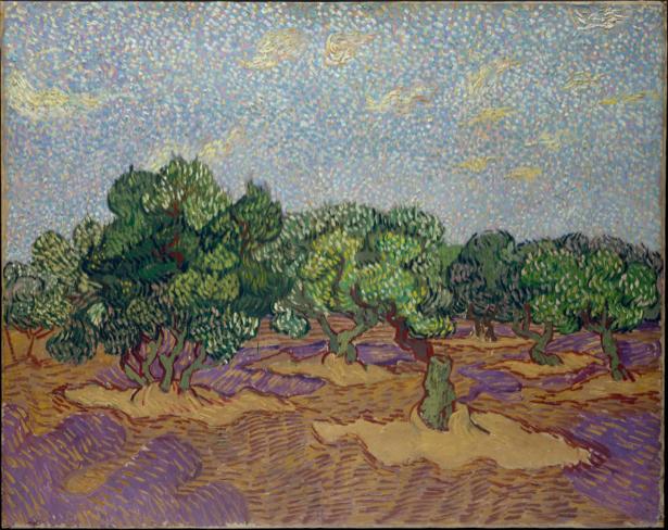 Ван Гог пейзаж (art-0000224)