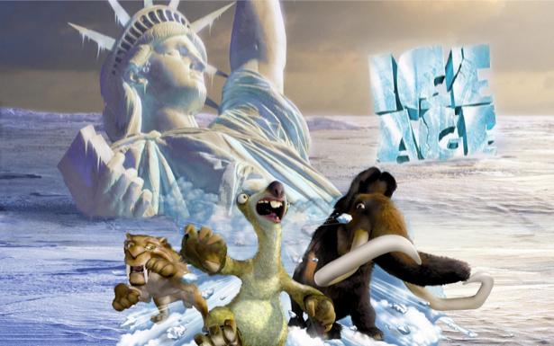 Ледниковый период - 3D фотообои (children-0000139)