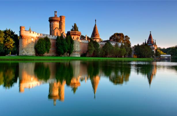 Фотообои Люксембург, крепость, дворец, замок (city-0000073)