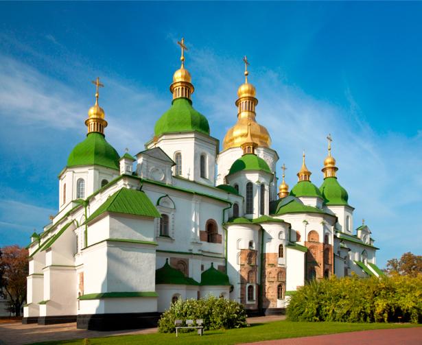 Фотообои Софийский собор Украина (city-0000298)