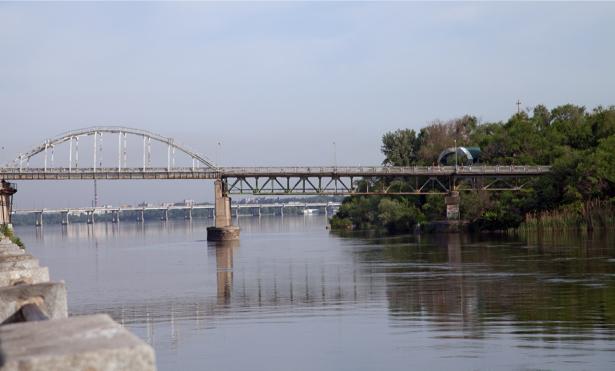 Днепропетровск Фотообои река Украина (city-0000858)