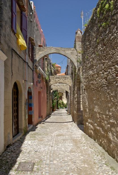 Фотообои с аркой Греция (city-0000997)