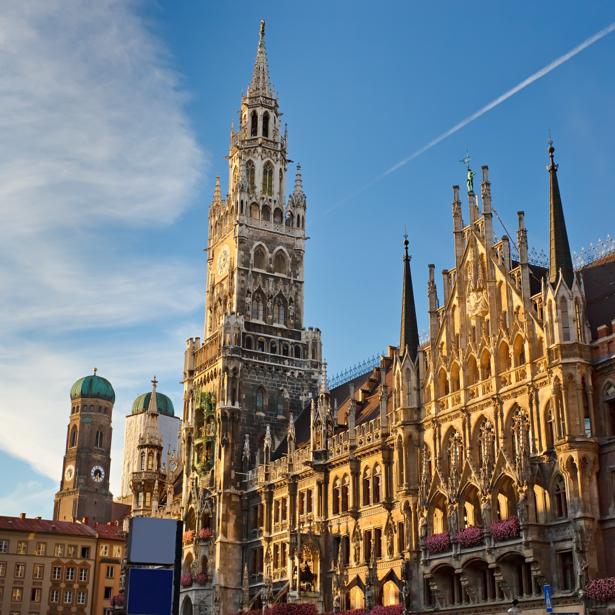 Фотообои мариенплац мюнхен Бавария (city-0001074)