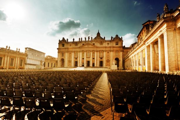 Фотообои St. Peter's Square ватикан (city-0001106)
