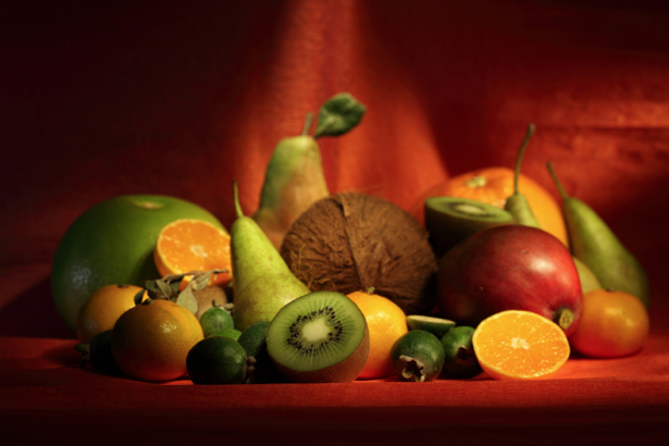 Обои на кухню фруктовая композиция (food-0000021)