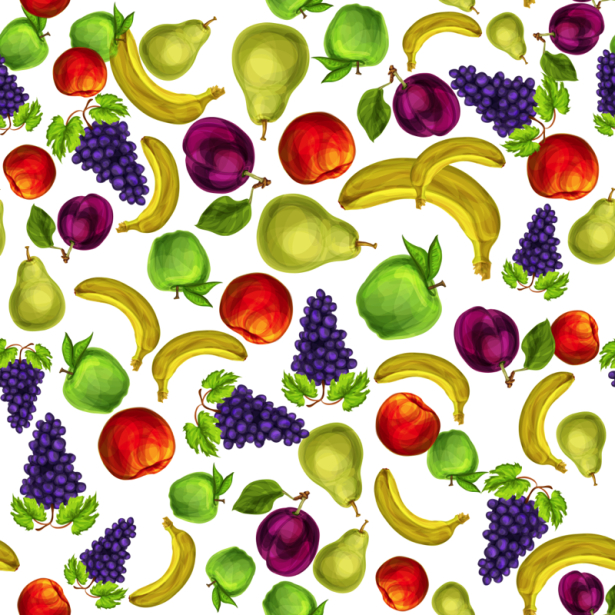 Фотообои в кухню паттерн фруктовый (food-0000308)