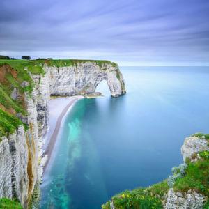 Фотообои Аваль скала пляж, Франция (nature-0000834)