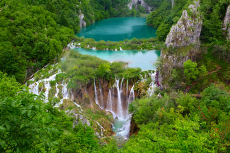 Фотообои Плитвицкие озера, Хорватия (nature-0000851)