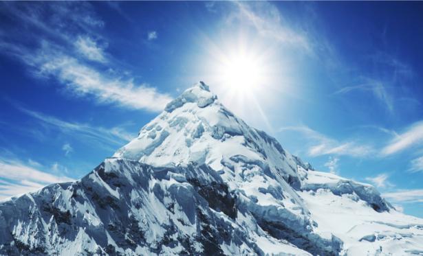 Фотообои снежные горы фото (nature-00500)
