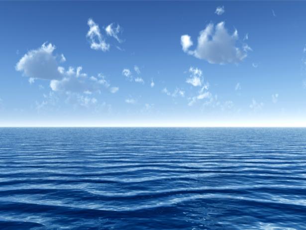 Фотообои море горизонт голубое небо (sea-0000347)