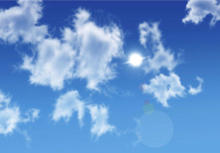 Фотообои небо с облаками 1 (sky-0000107)