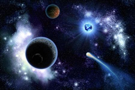 Фотообои звездная фантазия (space-0000037)