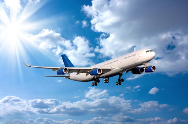 Фотообои самолёт во время взлёта (transport-0000069)
