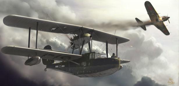 Фотообои самолёты амфибии (transport-0000078)