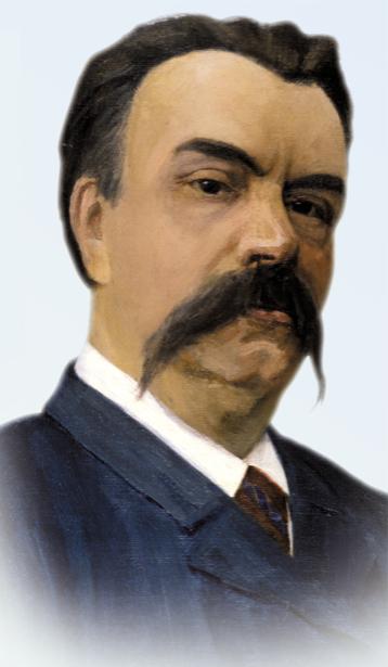 Портрет Михаила Старицкого (ukraine-0184)