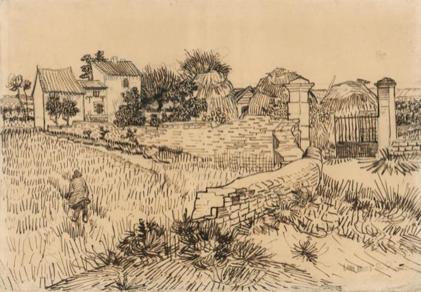Ван Гог пейзаж (art-0000183)