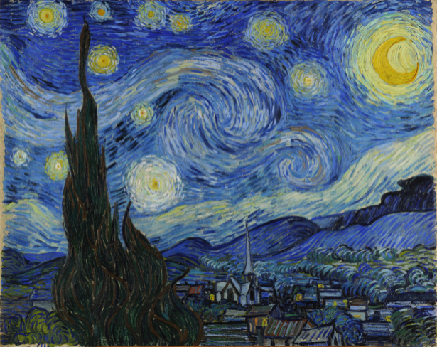 Ван Гог пейзаж (art-0000255)