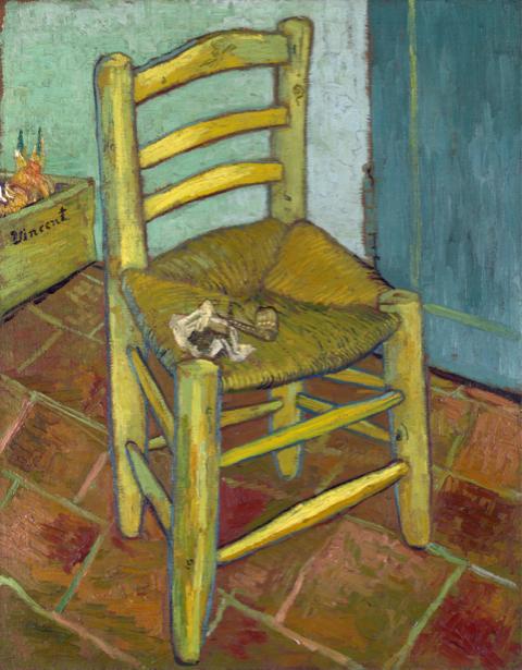 Ван Гог стул (art-0000283)