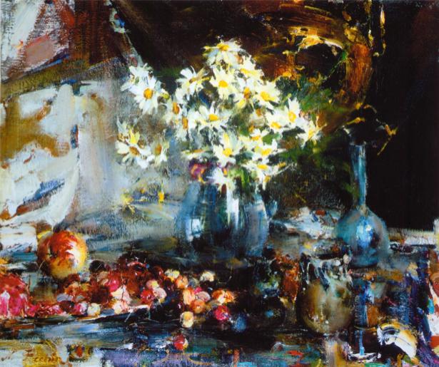 На стену фотообои Натюморт с цветами (art-0000329)