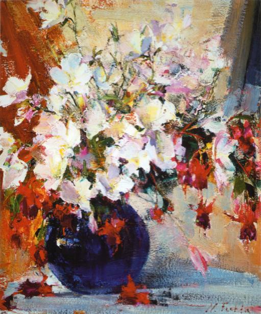 Фото картины цветы Натюрморт с цветами (art-0000359)