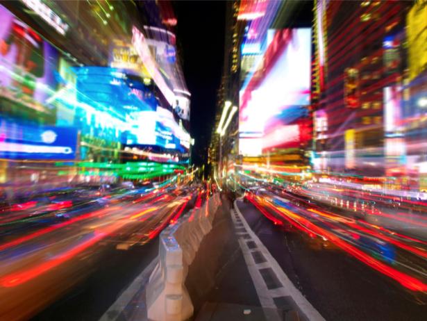 Фотообои город городское движение (background-0000006)