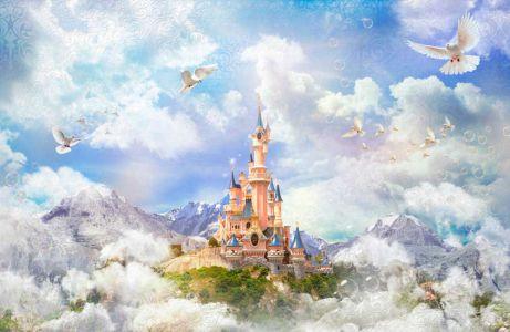 Фотообои сказочный замок (children409)