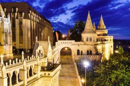 Фотообои Рыбацкий бастион в Будапеште (city-0001329)