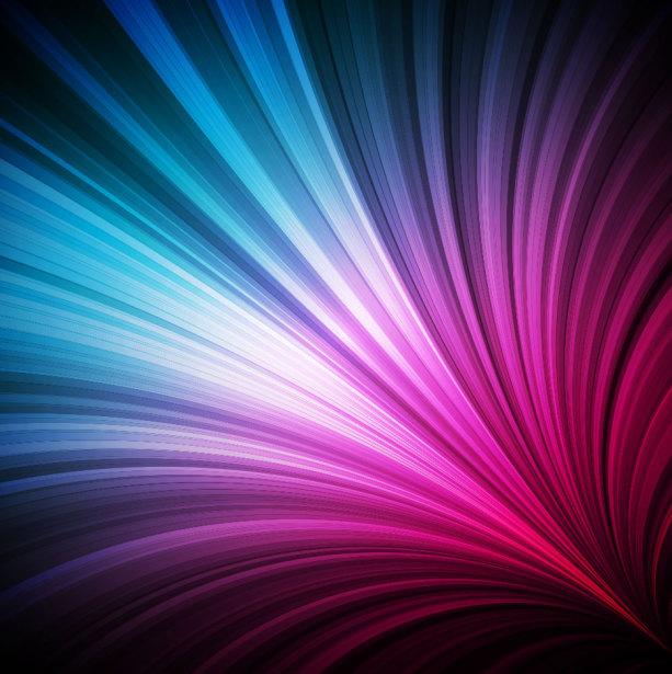 Фотообои авангард цветовые волны (commercial-00020)