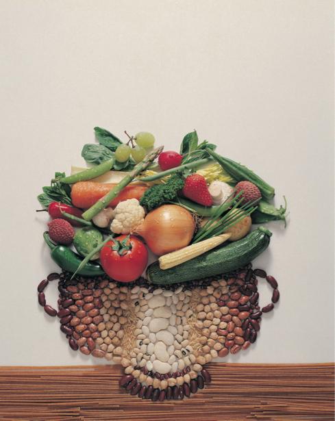 Обои на кухню овощная композиция (food-0000059)