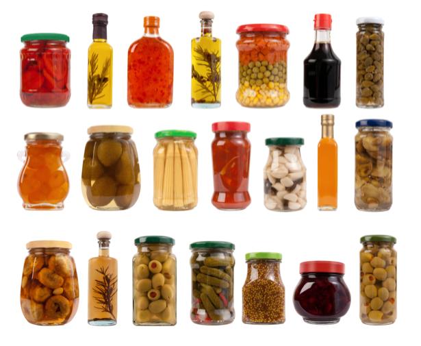 Фотообои для кухни Консервация банки (food-0000077)