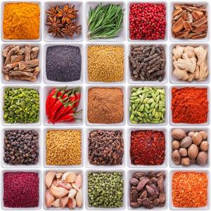 Фотообои для кухни набор специй (food-0000271)