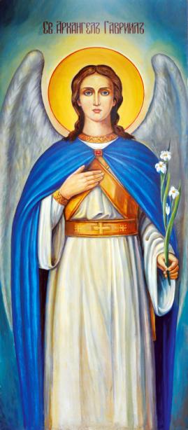 икона Святой архангел Гавриил (icon-00065)