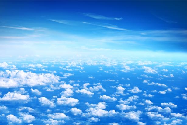 Фотообои небо и облака фото (sky-0000148)