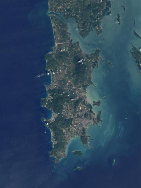 Фотообои на стену океаническая синива (terra-00213)