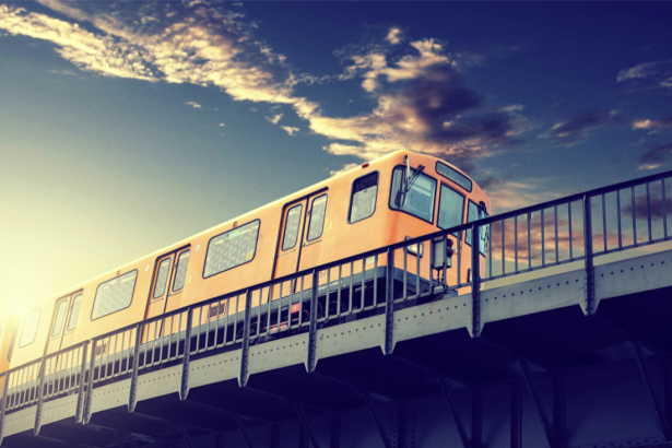 Фотообои поезд Берлин Германия (transport-0000226)