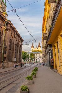 Фотообои Улица Львова (ukr-52)