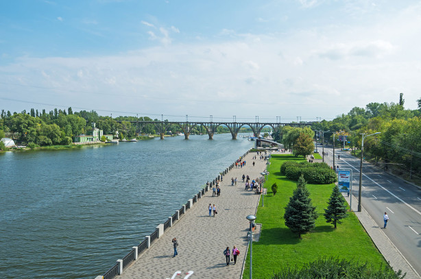 Фотообои Набережная Днепра (ukr-66)