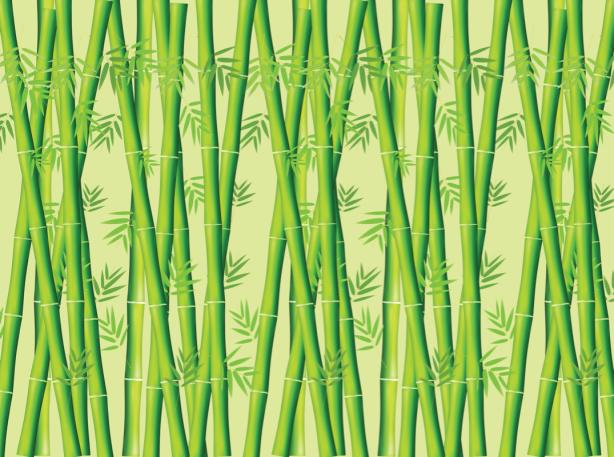 Скатерть бамбук зеленый (0072)