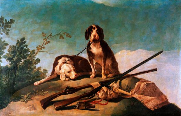 Хосе де Гойя собаки (art-0000037)