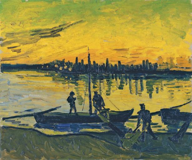 Ван Гог пейзаж (art-0000171)