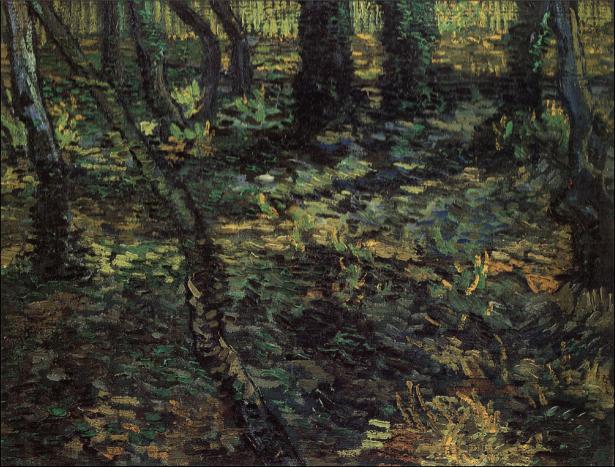 Ван Гог пейзаж (art-0000281)