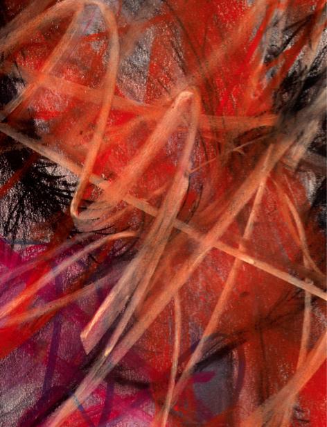 Фотообои мазки краски пастель (background-0000078)