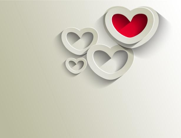 Фотообои для гостиной сердечки (background-0000343)